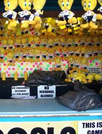 Hoopla stall which has been prosecuted for conning  customers by Blackpool Council