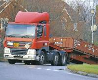 Concern over the number of lorry trips after accident