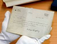Rudyard Kipling letter found in town archives (UK)